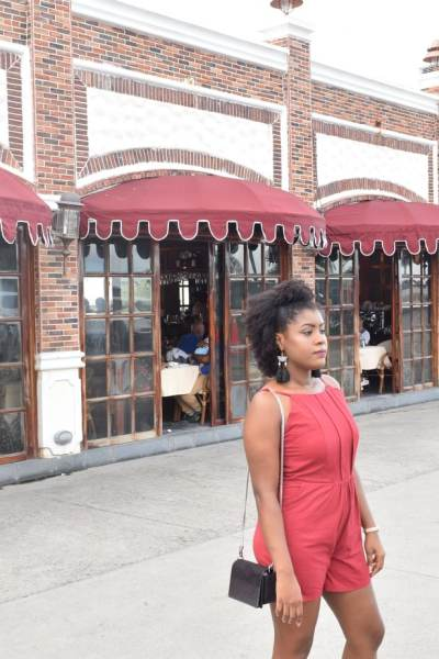 Wonderful Sunday Evening Out In My Simple Romper | Romper | Cami Romper | Zaful Romper | Burgundy Romper | Travel Beauty Blog