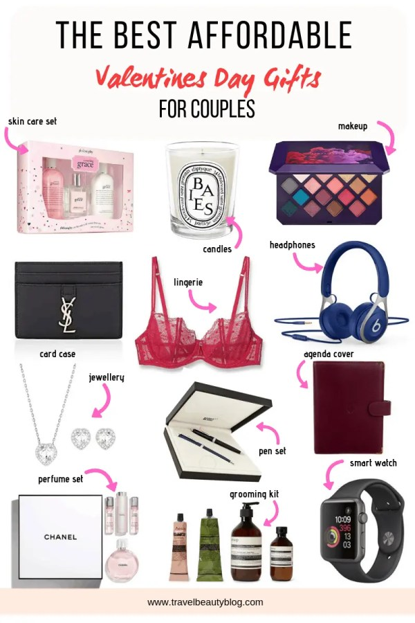 The Best Affordable Valentines Day Gifts For Couples | Travel Beauty Blog