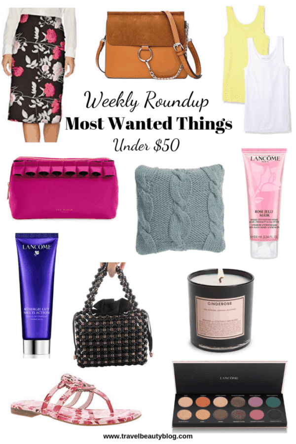 Roundup Of The Most Wanted Things Under $50 | Travel Beauty Blog | Amazon Associate | Amazon Shopping | Amazon Finds | Weekly Roundup
