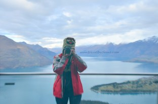 Lake Wakatipu as my backdrop