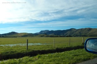Drive Southeast from Christchurch towards Akaroa. The view along the way is gorgeous!