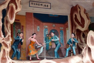 Club activities in Shanghai and Hong Kong were depicted as a vice; money and time should be spent to help others.