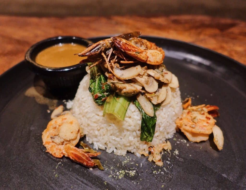 Garlic Prawn Butter Rice