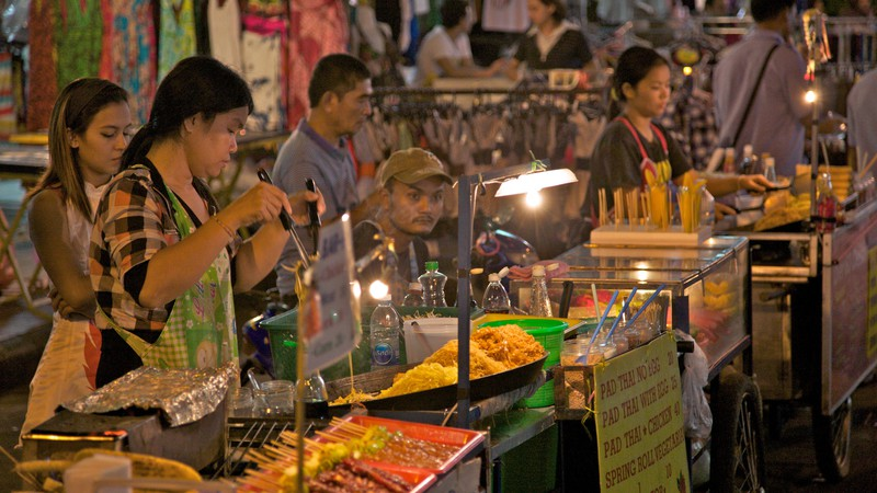Khao San Road Street Food Bangkok