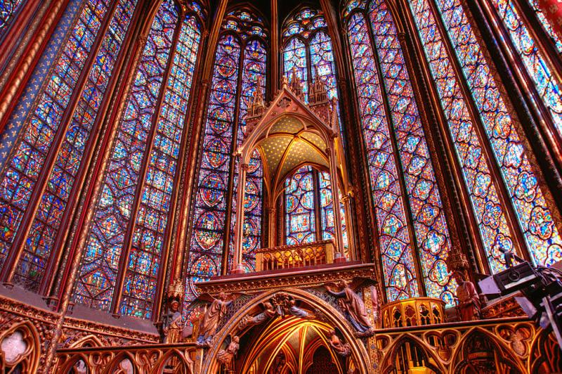 paris sainte chapelle windows