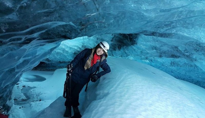 Ice cave tour