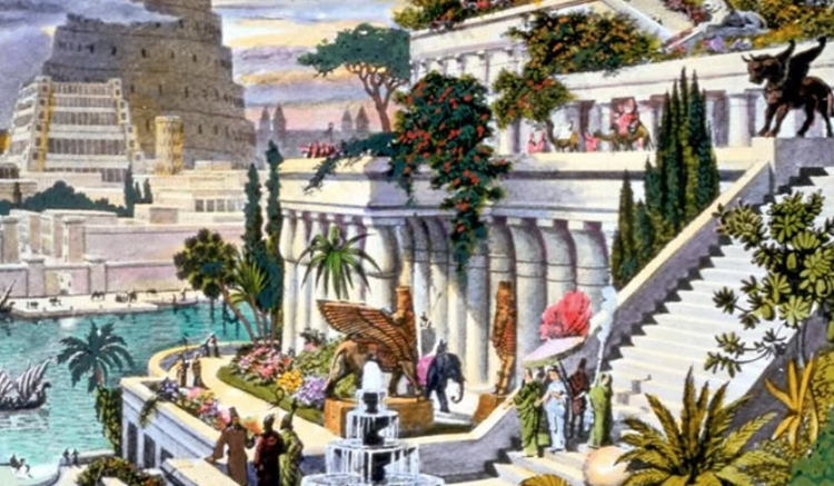 2-Hanging Gardens of Babylon