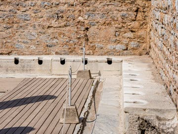 Dream Destination Turkey Day 2 - Ephesus latrines