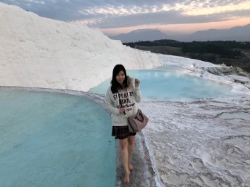 Dream Destination Turkey Day 3 - Pamukkale 4