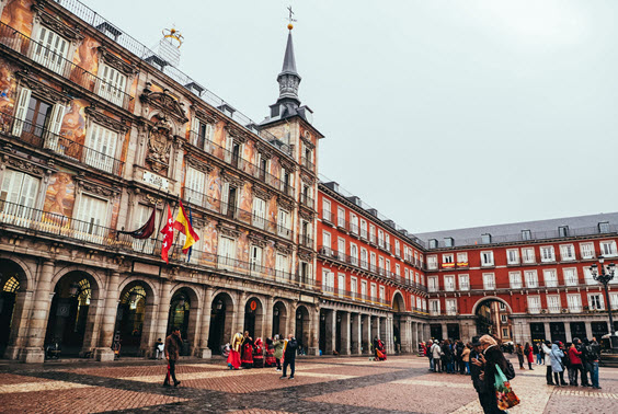 Dream Destination Spain - Day 1 - Madrid - Plaza Mayor 1