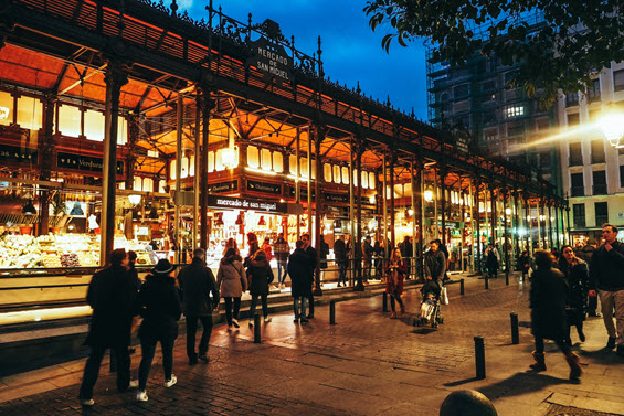 Dream Destination Spain - Day 2 - Madrid - Mercado de San Miguel 1