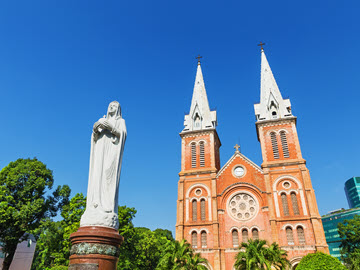 Rhythm of Journey - Ho Chi Minh City - Notre Dame Cathedral