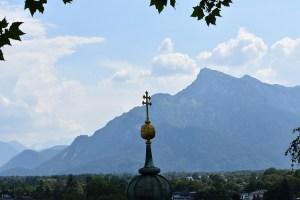 Untersberg with spire