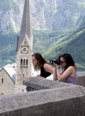 Action Shot Hallstatt