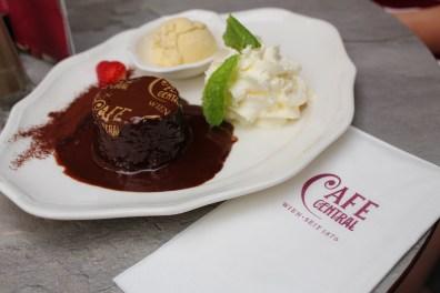 cafe central cake