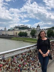 Grace on the Lock Bridge
