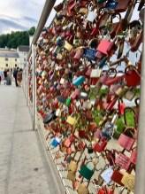 Locks on the Lock Bridge