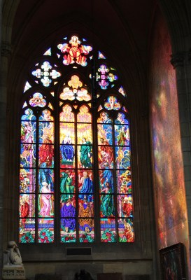 Stained Glass at St. Vitus