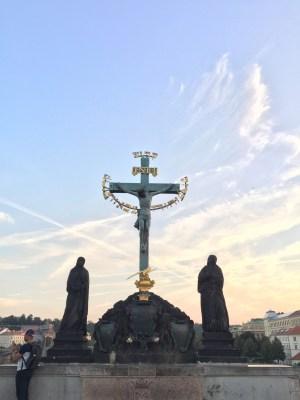 Charles Bridge Statue - Religious
