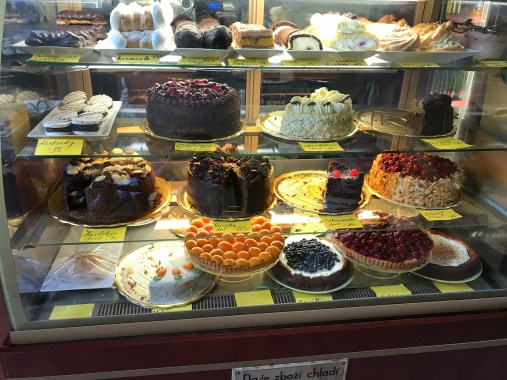 Praha Cakes on Display