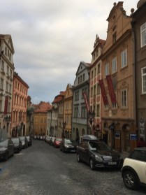 Walking through the streets of Old Town Prague.