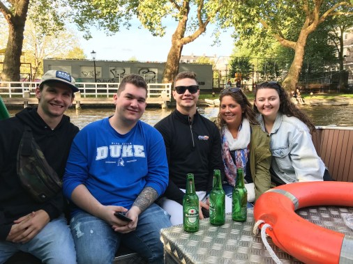 The Heineken Experience and river cruise was one of my favorite parts of Amsterdam.