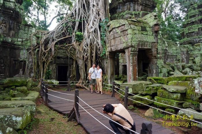 柬埔寨旅遊》吳哥窟世界文化遺產.塔普倫寺Ta Prohm,古墓奇兵、變型金鋼電影拍攝場景,吳哥窟必玩景點之一
