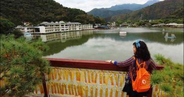 南投埔里景點|南投鯉魚潭風景區~小西湖寧靜之美!
