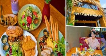 貳樓餐廳公益店 Second Floor Cafe台中吃早午餐的好去處 寵物友善餐廳