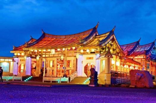▌遊記▌台灣首座!獨一無二閃亮玻璃媽祖廟:彰化鹿港「台灣護聖宮」。