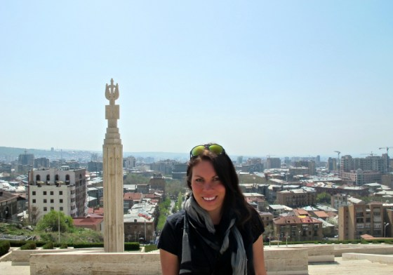 Hanging in Yerevan, Armenia, one of my favourite places in the world