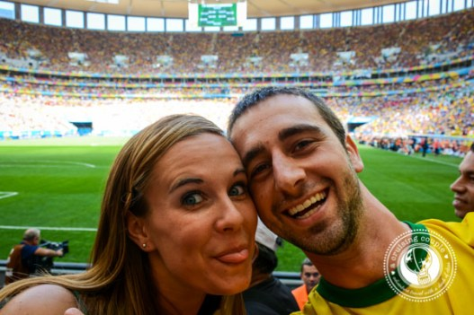 A Cruising Couple at the Brazil World Cup