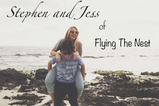 Stephen and Jess of Flying The Nest travel blog