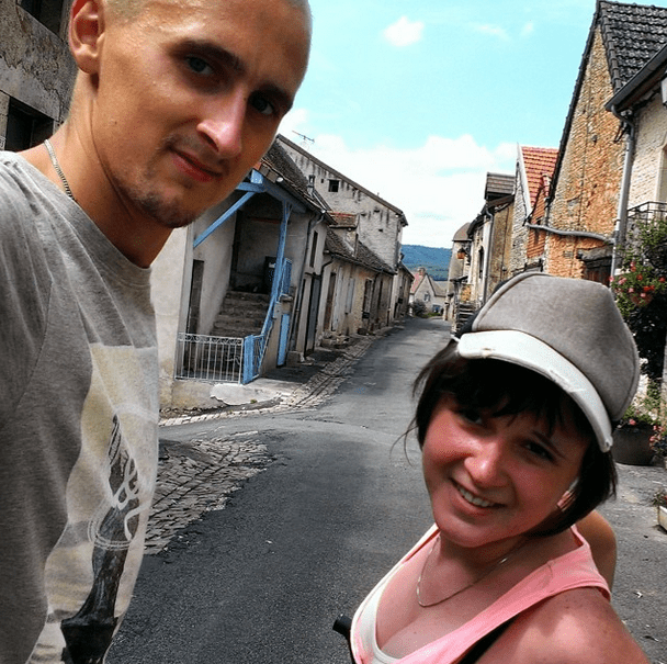 Kaspars and Una in Burgundy, France - We Are From Latvia