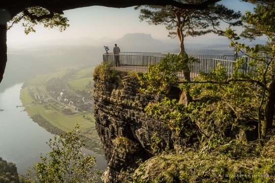 Bastei Rocks Travel Blogger and photographer Anda Galffy Of Travel Notes And Beyond
