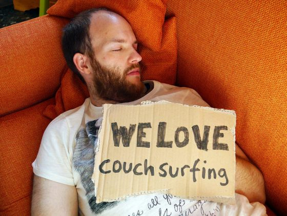 The AngloItalians do couchsurfing from Dale Davies and Franca Calabretta