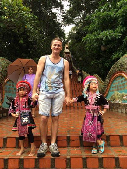 In Chiang Mai, Thailand Danny Flood of Open World Magazine