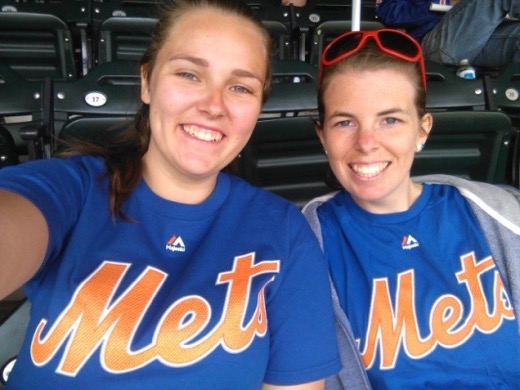 Selfie. Ready for the Mets game, NYC.