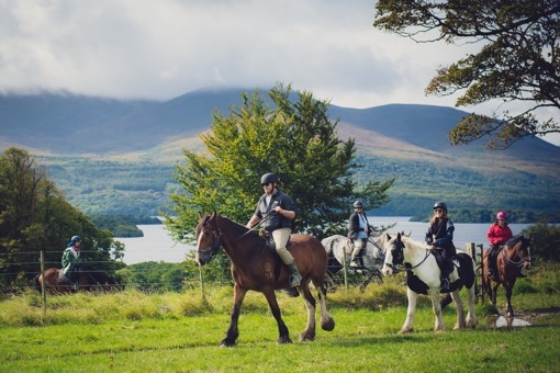 Horseback riding in Ireland with Shannon of The Wanderlust Effect