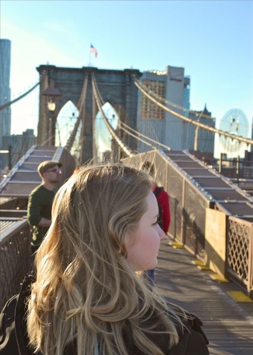 Across the Brooklyn Bridge with The Full Time Tourist Deni Verklan