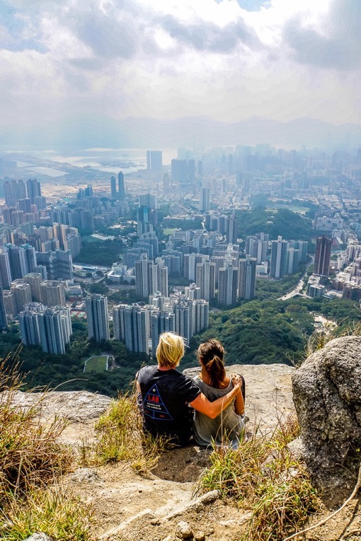 Finding Beyond at Lion Rock, Hong-Kong