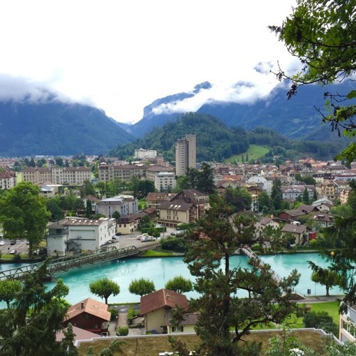 Exploring Interlaken Switzerland on the European Road Trip with Jub of Tiki Touring Kiwi