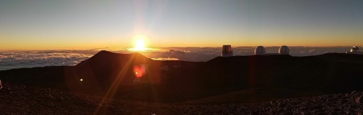 Mauna Kea sunset by the Wanderer of the World