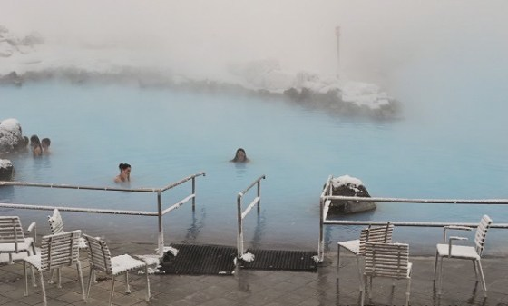 Hot Bath in Iceland by Ana Montano of Gnome Trotting