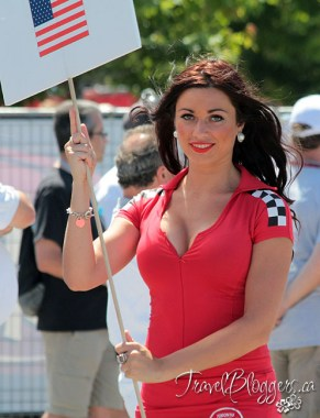 TravelBloggers.ca, Honda Indy of Toronto, Indy Car, Grid Girl
