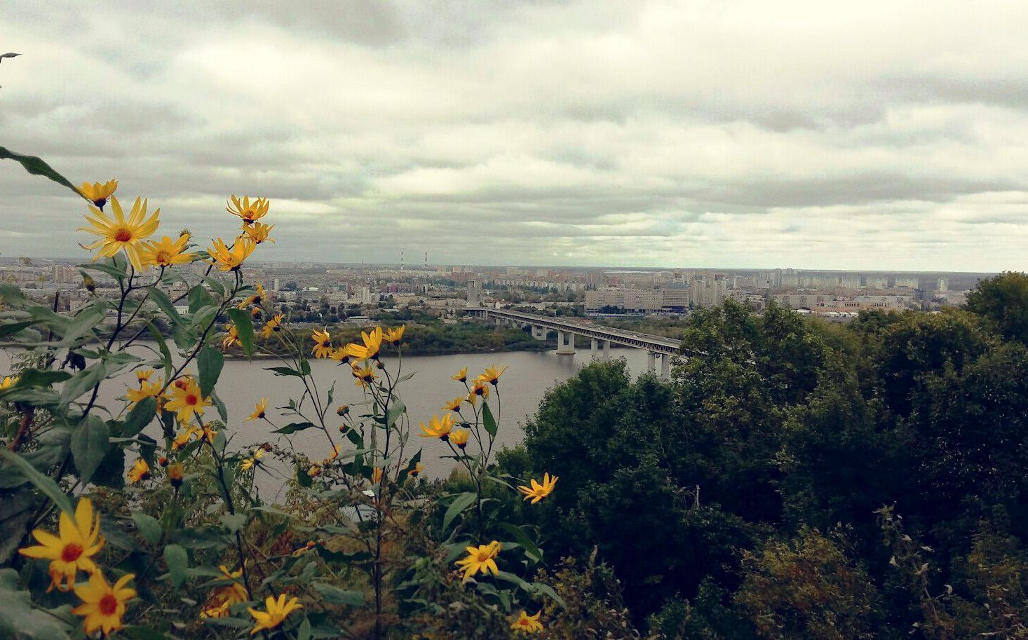 Нижний Новгород смотровая площадка
