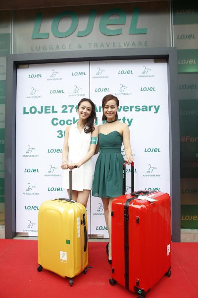 Jacqueline and Scarlett Wong with Lojel