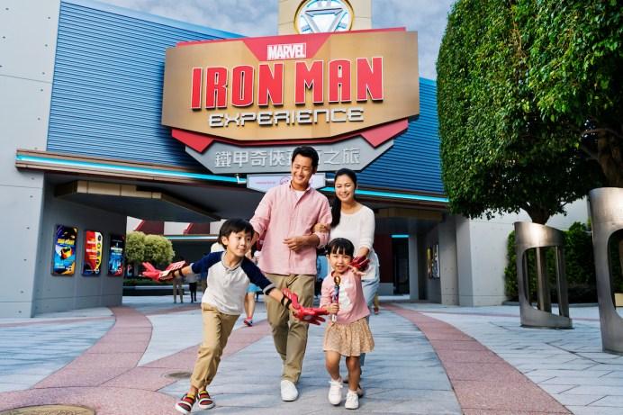 Hong Kong Disneyland_Iron Man Experience_Entrance_with model (1)