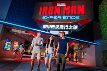 Hong Kong Disneyland_Iron Man Experience_Entrance_with model (3)
