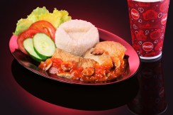 Starliner Diner_IMX Grilled Chicken Breast with Rice Combo